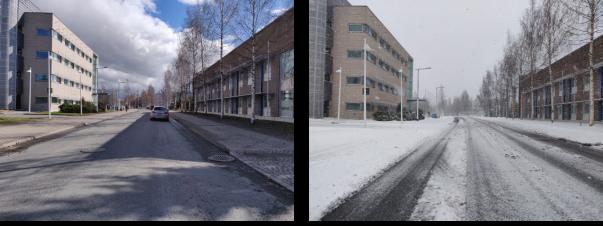 Dry vs Snow